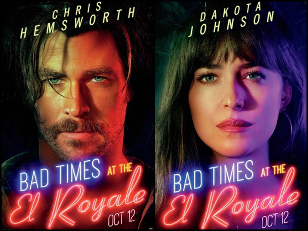 """""""Thần sấm"""" Thor và mỹ nhân """"50 sắc thái"""" mắc kẹt ở khách sạn bí ẩn trong phim mới"""