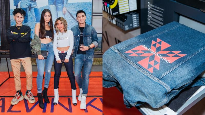 Cửa hàng pop-up của Calvin Klein Jeans gây ấn tượng với bảng mã #DenimIndex