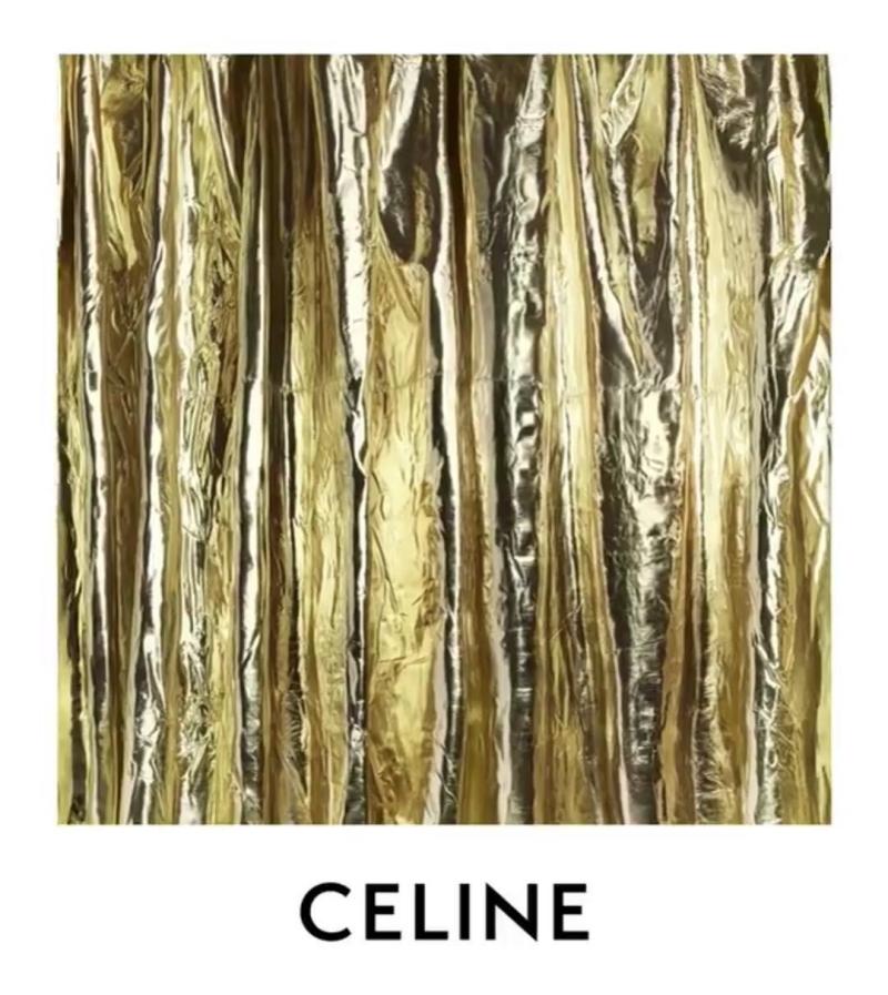Logo mới của Celine được công bố trên trang Instagram của hãng.