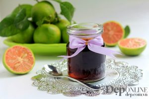 Chanh đào ngâm mật ong đường phèn – thuốc trị ho hữu hiệu