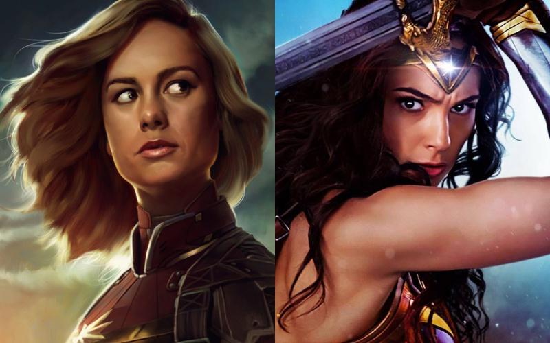 """Bị giành mất """"phát súng"""" nữ quyền, """"Captain Marvel"""" liệu có gây tiếng vang như """"Wonder Woman""""?"""