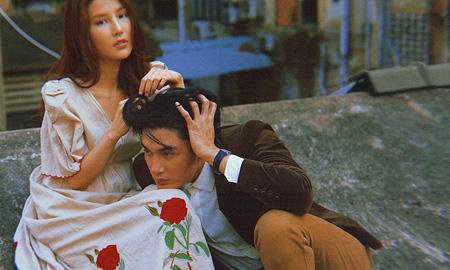 """Diễm My 9X mượn """"bờ vai"""" Quang Đại tâm sự chuyện yêu xa với bạn trai"""