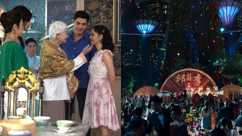 """Bộ phim """"Crazy Rich Asians"""" xa hoa và lộng lẫy với những cảnh quay tuyệt đẹp tại Singapore"""