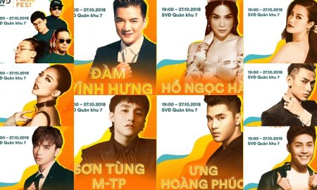 10 gương mặt đình đám nhất V-pop sẽ có mặt trong Lễ hội âm nhạc FWD