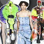 Sàn diễn New York rộ mốt mới: Giày móng ngựa và jeans gợn sóng