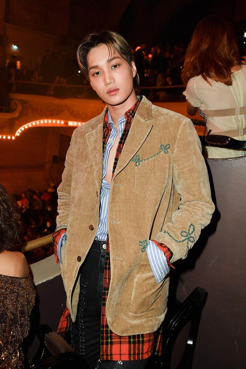 """""""Chàng thơ"""" châu Á của Gucci thu hút bởi gương mặt điển trai và phong thái đầy """"chất nghệ""""."""