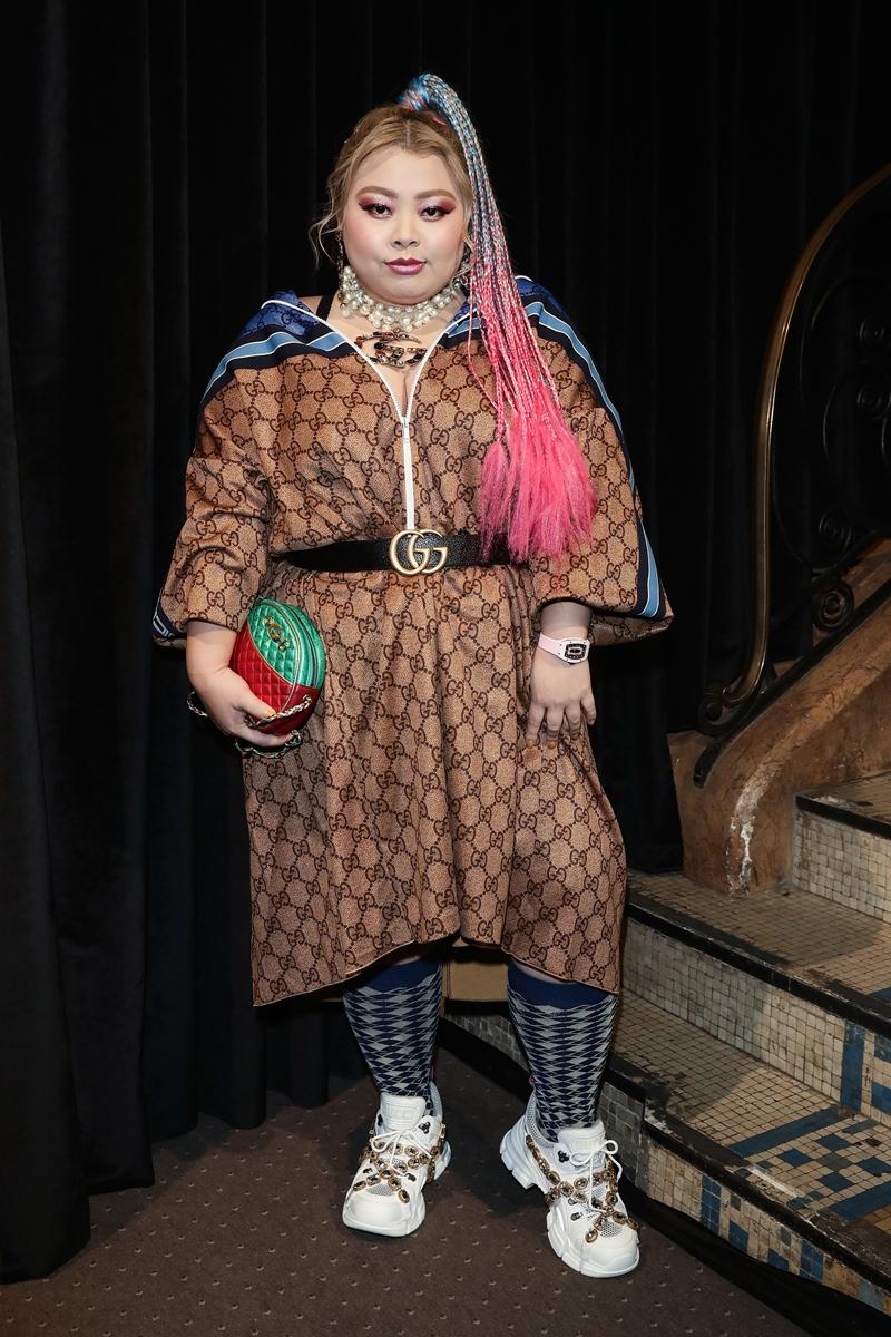 Diễn viên hài Nhật Bản Naomi Watanabe cũng là một người bạn thân thiết của nhà mốt Gucci.