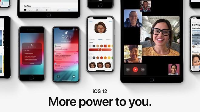 Hệ điều hành iOS 12 cho iPhone sẽ chính thức phát hành vào ngày 17/9