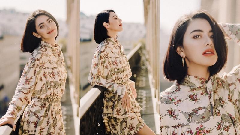 Bông hồng lai Mai Davika ngọt ngào trong nắng Paris qua ống kính của nhiếp ảnh gia Việt