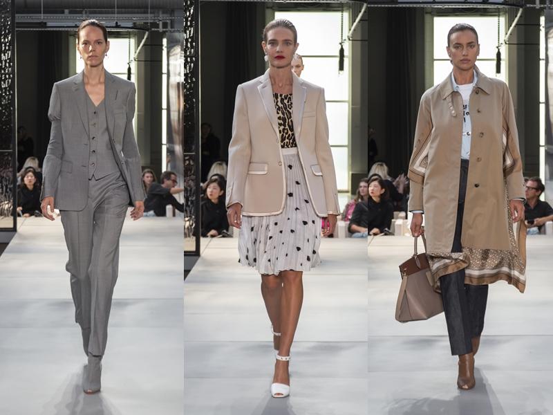 Từ trái qua: chân dài người Đan Mạch Freja Beha Erichsen, siêu mẫu người Nga Natalia Vodianova, chân dài đình đám Irina Shayk.
