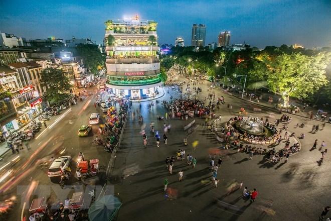Hà Nội và Vietnam Airlines tổ chức hòa nhạc tại phố đi bộ Hồ Gươm