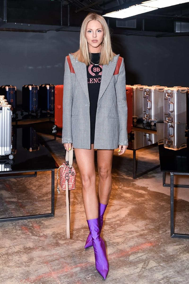 Fashionista Shea Marie khoe chân dài miên man trong các thiết kế từ Balenciaga, Fendi,...