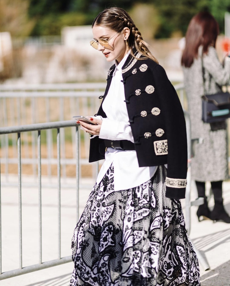 Olivia Palermo tại show Dior