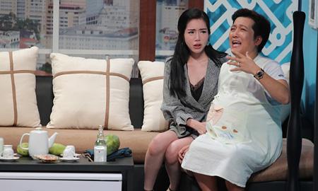 Đã đính hôn với Nhã Phương, Trường Giang vẫn nhận được lời tỏ tình từ Elly Trần