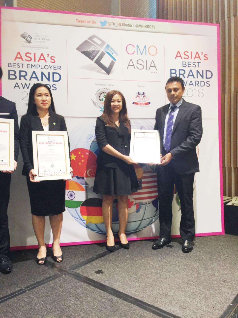 Nhà phân phối hàng hiệu hàng đầu Việt Nam là thương hiệu tuyển dụng tốt nhất Châu Á năm 2018