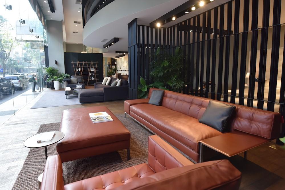 Không gian nội thất Cassina by Starck tại tòa nhà Times Square Saigon