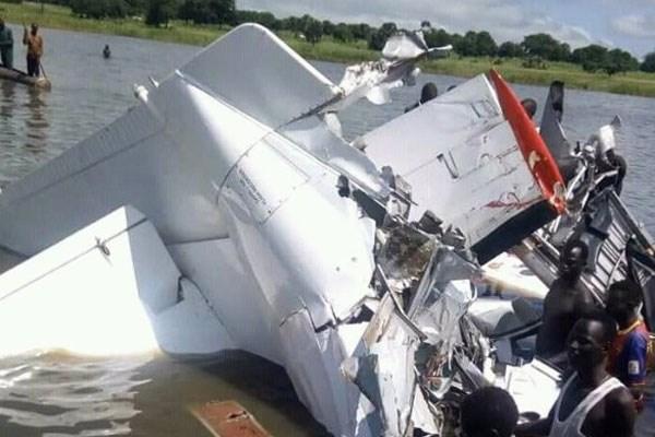 Giới chức Nam Sudan xác nhận 19 người thiệt mạng trong vụ rơi máy bay