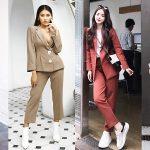 """Thu vừa sang, suit đã kịp """"càn quét"""" street style của quý cô thời trang Việt"""