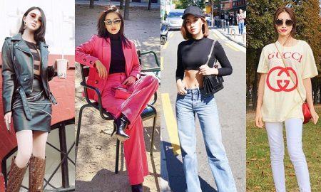 """Hoa hậu Mỹ Linh, Jolie Nguyễn khoe street style du lịch """"sang chảnh"""", Khánh Linh, Hòa Minzy xúng xính hàng hiệu"""