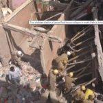 Ấn Độ: Tòa nhà 3 tầng bất ngờ đổ sập, ít nhất hai trẻ em thiệt mạng