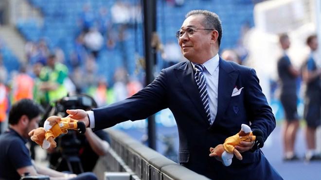 Rơi trực thăng của ông chủ câu lạc bộ bóng đá Leicester City