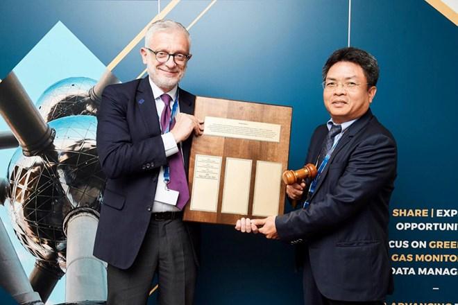 Việt Nam là Chủ tịch Ủy ban Vệ tinh quan sát Trái Đất 2019