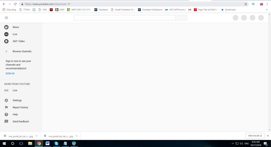 Google Việt Nam nói gì về sự cố gián đoạn truy cập YouTube?