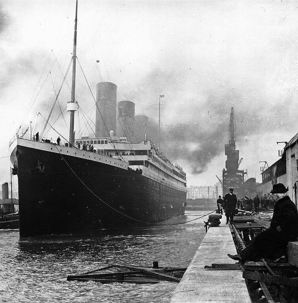 Chiếc tàu Titanic nguyên bản.