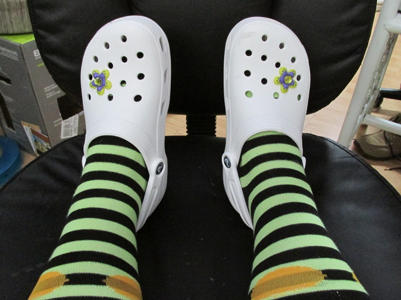 Những thiết kế của Crocs được đánh giá là thoải mái và an toàn nhất cho đôi chân của bạn