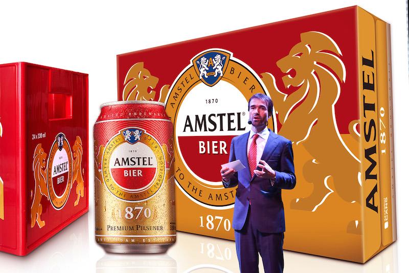 Bia Amstel chính thức gia nhập thị trường Việt Nam