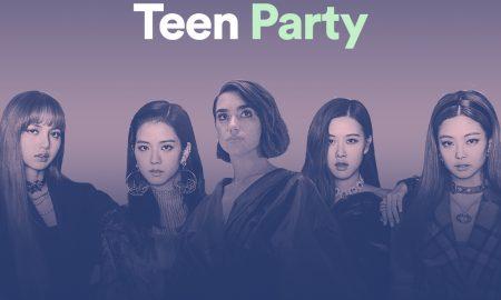 Dua Lipa và Black Pink chiếm lĩnh bữa tiệc âm nhạc Teen Party trên Spotify