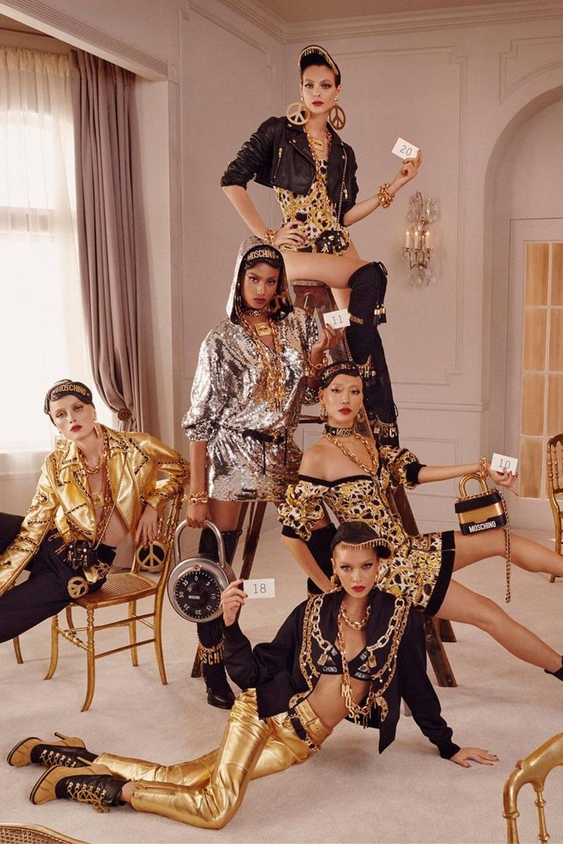 Những hình ảnh đầu tiên của BST Moschino [tv] H&M
