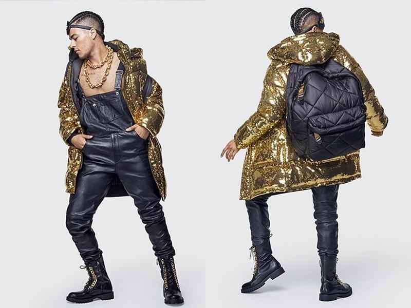Các món phụ kiện như dây chuyền, túi xách, balo trong BST mới cũng sẽ mang nét phóng khoáng, trẻ trung dành cho cả nam và nữ.