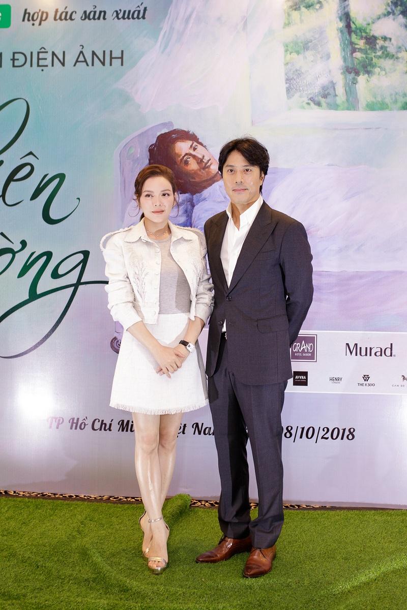 Lý Nhã Kỳ và Han Jae Suk