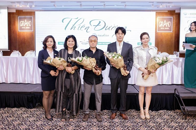 """Tài tử """"Giày thủy tinh"""" Han Jae Suk hợp tác cùng kiều nữ Lý Nhã Kỳ trong phim mới"""