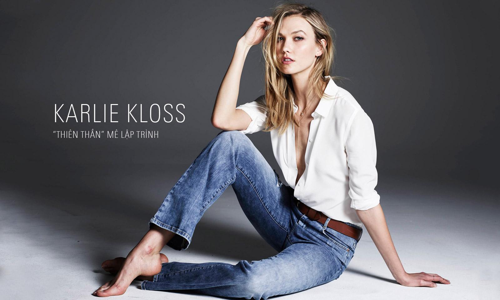"""Karlie Kloss: """"Thiên thần"""" mê lập trình"""