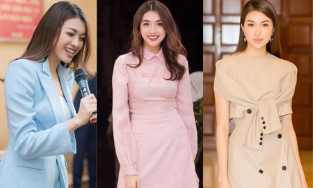 Gu thời trang dự sự kiện ấn tượng của Á hậu Lệ Hằng