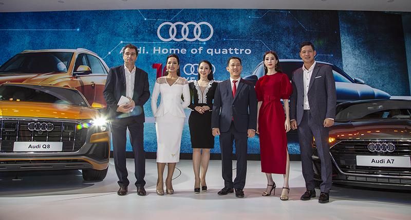 """Dàn """"sao"""" phủ kín gian hàng Audi tại VMS 2018"""