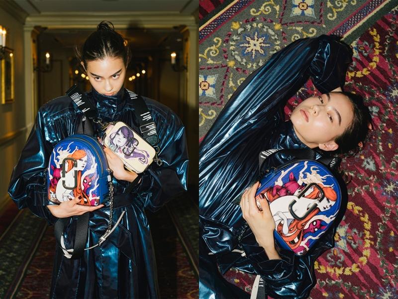 Thế nhưng mới đây, Lauren mới chính thức bật mí các mẫu thiết kế sử dụng các nét vẽ của mình trong BST mới của Marc Jacobs.
