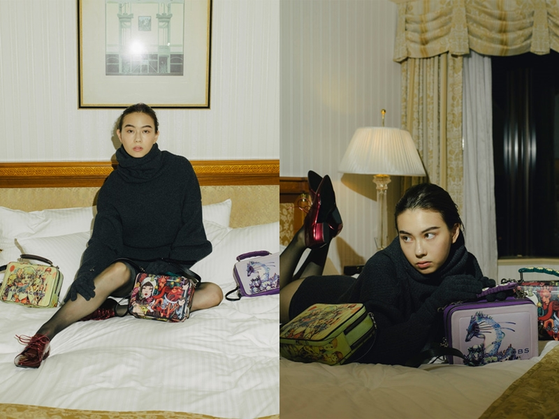BST gồm những chiếc túi xách mới của nhà mốt Marc Jacobs in những tác phẩm rực rỡ sắc màu, thể hiện chất riêng của Lauren Tsai.