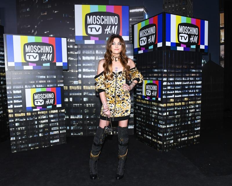 """Paris Jackson - Con gái của """"ông hoàng nhạc pop"""" Michael Jackson đầy quyến rũ với bộ váy họa tiết da báo."""