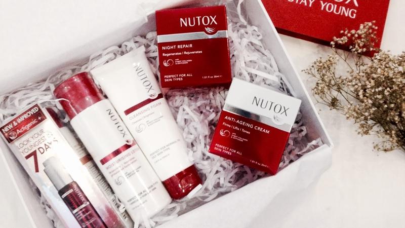 Nutox: Mỹ phẩm chống lão hóa da với thành phần tinh chất collagen tổ yến đã có mặt tại Việt Nam