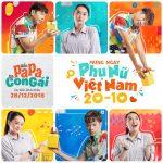 """Ê kíp phim """"Hồn Papa Da Con Gái"""" chúc mừng ngày Phụ Nữ Việt Nam 20/10"""