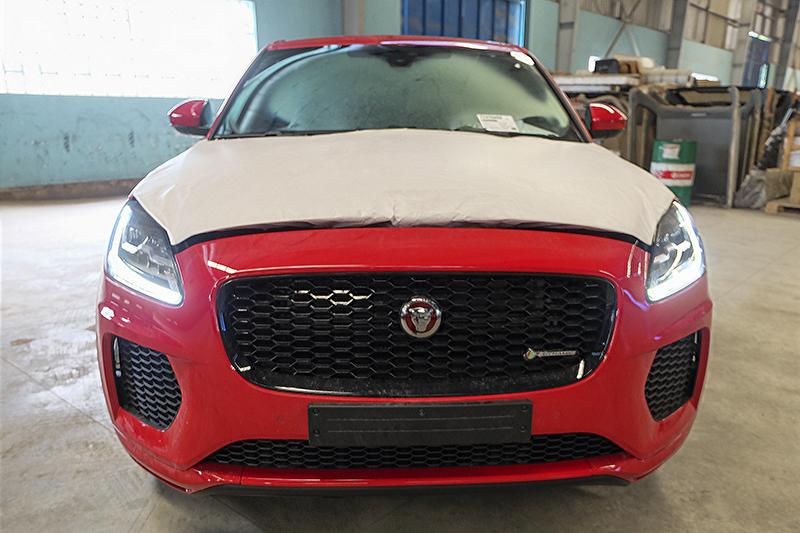 Jaguar E-Pace về Việt Nam chuẩn bị cho VMS 2018