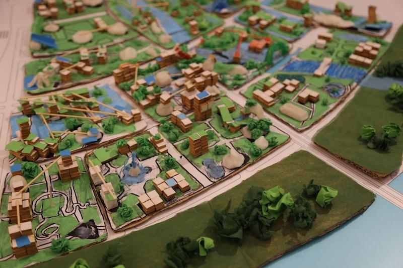 Nhiều ý tưởng sáng tạo và thực tiễn cho Thành phố tương lai