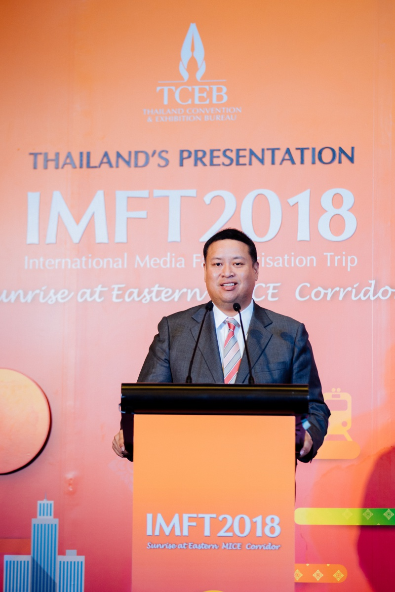 Ông Chiruit Isarangkun Na Ayutthaya , chủ tịch Cục triển lãm và hội nghị Thái Lan TCEB