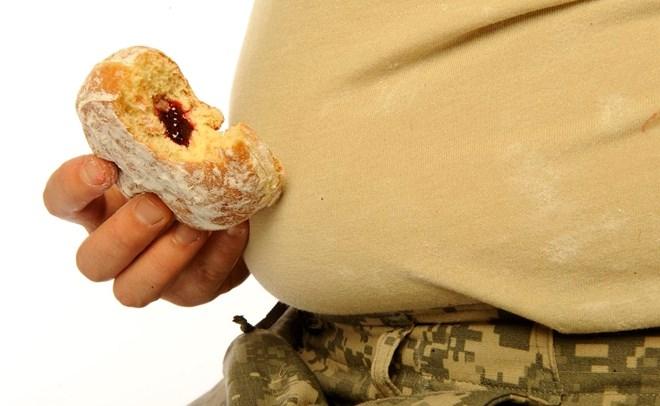 1/3 số thanh niên Mỹ bị thừa cân, quân đội khó tuyển tân binh