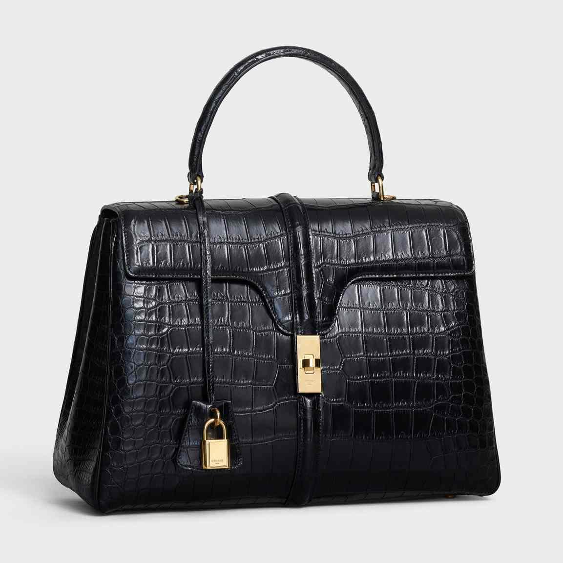 Phiên bản túi 16 bằng da cá sấu màu đen cỡ vừa có giá lên đến 32.000 euro (hơn 801 triệu đồng).
