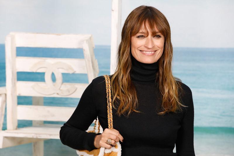 """""""Nàng thơ"""" Caroline de Maigret là gương mặt quen thuộc tại show Chanel."""