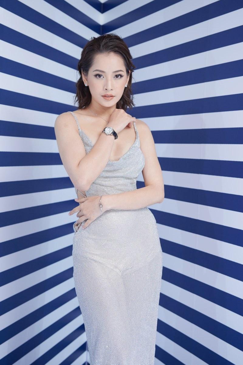 Cô đeo nữ trang Happy Diamonds cùng đồng hồ Happy Sport giá hơn 330 triệu đồng.